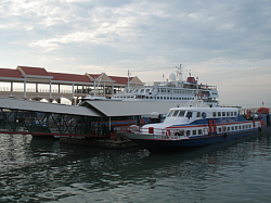 Ferry Docking Penang...